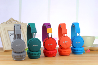 NIA X2 4-in-1 Wireless Bluetooth Hands-free Headphone Support Micro SD Player / FM Radio (Green) - 4