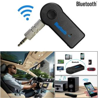 Harga CocolMax Details about Wireless Bluetooth 3.5mm AUX Audio Stereo Music Home Car Receiver Adapter Mic - intl