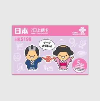 Japan Softbank Travel Prepaid SIM Card (7 Days 5GB) - 2
