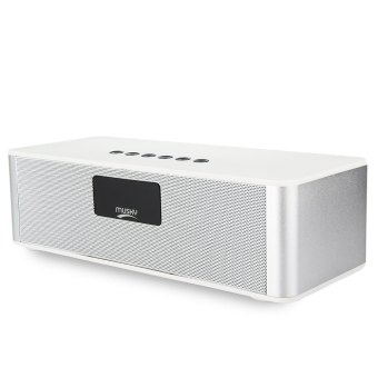 Harga MUSKY DY21L HIFI Wireless V4.0 Bluetooth Stereo Speaker (White) - intl