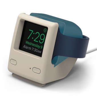 Harga Elago W4 Apple Watch Vintage 1988 Stand - Aqua Blue
