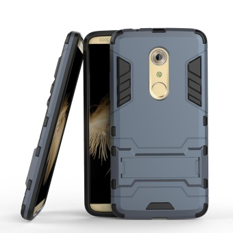 Harga Mooncase Case For ZTE Axon 7 2in1 Hybrid with Soft Rugged TPU Inner Skin and Hard PC Anti Scratches Protective Cover Light blue - intl
