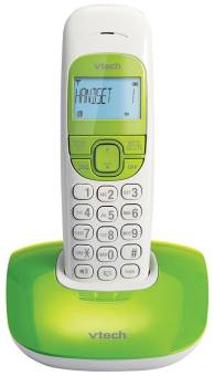 Harga VTECH VT1301 GREEN Digital Cordless Phone (Single Unit)