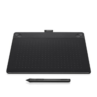 Harga WACOM Intuos Comic Creative Pen and Touch Tablet CTH-490- ( BLACK ) (Small)