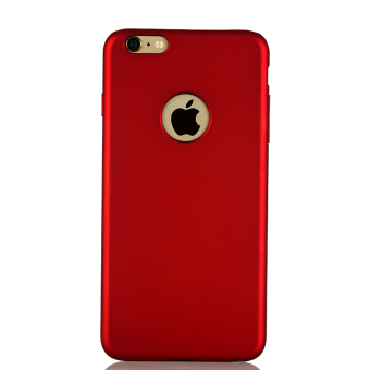 Harga Iphone6splus i6p apple phone shell plus sleeve slim matte hard shell s male and female models red shell