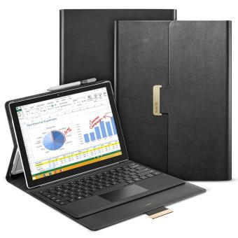 Harga ESR Intelligent Series Folio Stand Case [Buckler for Secure Closure][Built-in Stand with Multiple viewing Angles]for Surface Pro 4_intelligent-black - intl