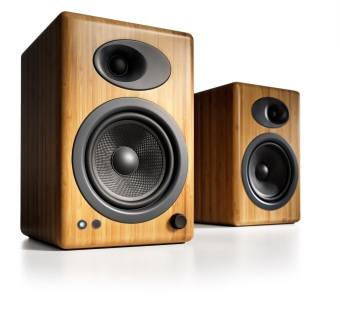 Harga Audioengine A5+ Powered Speakers, Bamboo /Official Product