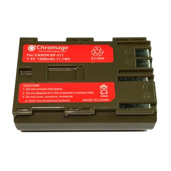 Harga BP-511 Rechargeable Lithium ion Battery for Canon 5D, 50D, 40D, 30D, 20D, 10D, 1D, D30, D60, 300D, Powershot Pro 1, G6, G5, G3, G2, G1, Pro90 is