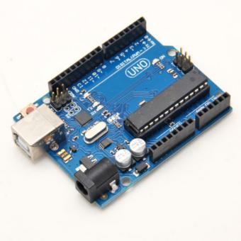 Harga UNO R3 ATmega328P ATmega16U2 Version Board Free USB Cable For Arduino - intl