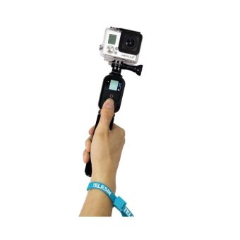 Harga Remote Pole 42.5inch Monopod Mount for Gopro hero 3+ 3 2 1 Camera - intl