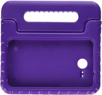 CLOUDSEA Samsung Galaxy Tab A 7.0 inch Kids Case - EVA ShockProof Cover Handle Stand Case for Kids Children for Samsung Galaxy TabA 7-inch Tablet 2016 Release(SM-T280 / SM-T285 Version ONLY) - Purple - intl