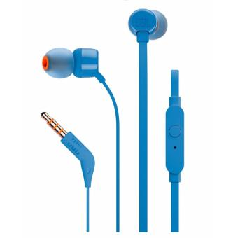 Harga JBL T110 IN EAR EARPHONES_BLUE