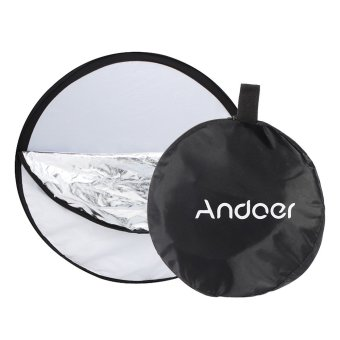 "Harga Andoer 43"" 110cm Disc 5 in 1 (Gold, Silver, White, Black, Translucent) Multi Portable Collapsible Photography Studio Photo Light Reflector (EXPORT)"