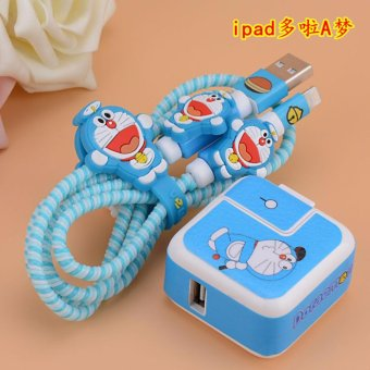 Harga Mobile Cable Protect Cover - Doraemon - intl