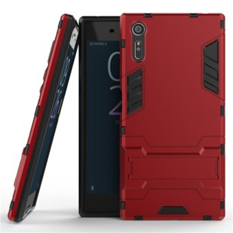 "Luxury Back Armor Style (PC and Soft TPU) Shockproof Comprehensive Protection and Stand phone case for Sony Xperia XZ (5.2"") - intl"