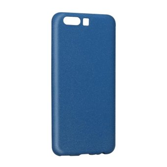 Ultra-Thin Shockproof Cover Soft TPU Matte Back Shell Phone Case For Huawei P10(Blue) - intl