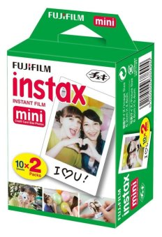 Harga 200 Sheets Fujifilm Instax Mini Twin Film (10 Twin Packs)