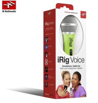 Harga IK Multimedia iRig Voice Wired Microphone iOS Android Green