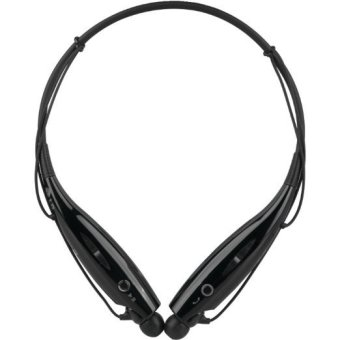 Harga HBS730 Stereo Sports Wireless Bluetooth Headset (Black) - intl