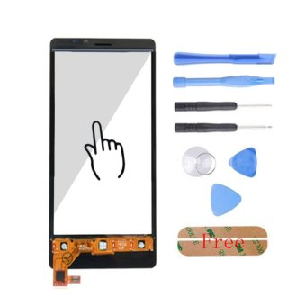 Top Quality Touch Glass Screen Digitizer Panel Free Tools Adhesive For Nokia Lumia N920 920 Black - intl - 3