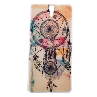 Harga Moonmini Case for Sony Xperia C5 TPU Ultra-thin Soft Back Case Cover Shell Protector (Colorful Dream Catcher)