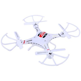 Harga Jo.In for JJRC H8c Explorers 2.4G 4CH 6Axis Gyro RC Quadcopter Aircraft With HD Camera RTF (White) (EXPORT)