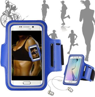 Harga For Huawei p8 p9 lite p7 y6 Run Case Mobile Arm Bag Waterproof Cycling p9 p8 Sport Cover Running Cell Phone Holder Honor 8 v8 7 - intl