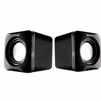 Harga Audiobox U-Cube USB Powered 2.0 Speakers (Grey)