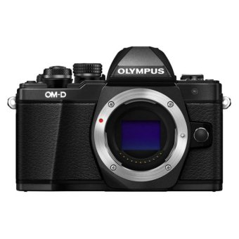 Harga Olympus OM-D E-M10 Mark II Mirrorless 16 Megapixel Digital Camera Body Only (Black)