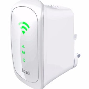 Harga Aztech WL590E Dual Band Wireless Repeater 750Mbps
