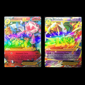 For Pokemon TCG EX Flash Card Lot Rare Basic Card+*20Pcs Mega card No Repeat) - 4