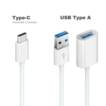 HUAST USB Type C 3.1 to USB 2.0 Adapter Data Charging and Sync Cable - 2