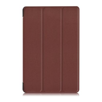 Flip Style Simple Stand Cover (PU leather and PC) Protection Tablet case for Samsung Galaxy Tab A 10.1 (2016) SM-P580 /P585 - intl