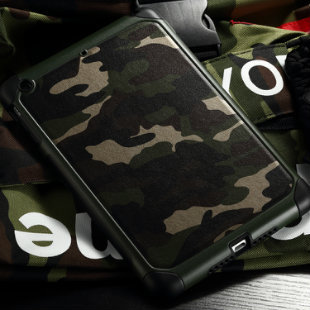 Harga Apple ipad mini4 mini4 tide camouflage two anti protective shell shell mobile phone sets of silicone shell shock drop resistance