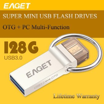 Harga 128GB OTG USB 3.0 Flash Drive For Computer/ Android Phone - intl