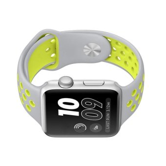 Ontube For Apple Watch Band Nike+ Series 1 Series 2, Soft Silicone Sport Bracelet Replacement Strap for iwatch band M/L Size 38mm - intl - 4