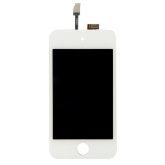 Harga LCD Screen Display Touch Glass Digitizer Assembly for iPod Touch 4G 4th (White)- - intl
