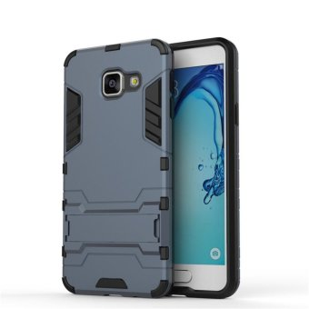 "Luxury Back Armor Style (PC and Soft TPU) Shockproof Comprehensive Protection and Stand phone case for Samsung Galaxy A3 (2016) SM-A310F (4.7"") - intl"