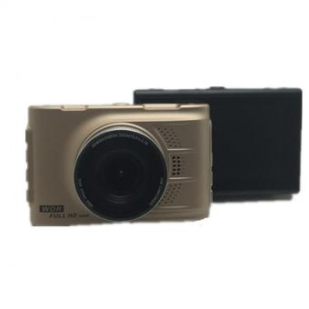 Harga HD Car Camera Car DVR Video Recorder Dash Cam Camcorder (Gold) - intl