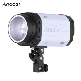 Harga Andoer MD-300 300WS GN58 Studio Photo Strobe Flash Photography Light with 50W Modeling Lamp - intl