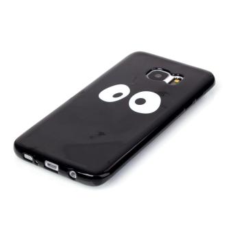 Moonmini TPU Soft Case for Samsung Galaxy S7 Edge (Black) - 3