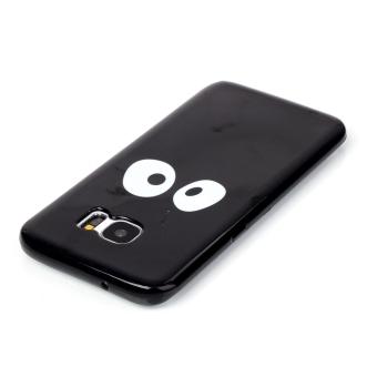 Moonmini TPU Soft Case for Samsung Galaxy S7 Edge (Black) - 4