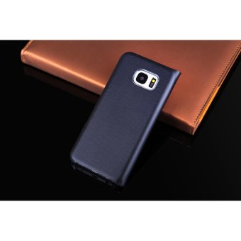 Asuwish Leather Case Flip Cover Wallet Card Holder Phone Cases for Samsung Galaxy S7 - intl - 2