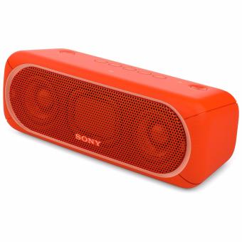 Harga SONY SRS-XB30 Extra Bass Bluetooth NFC Wireless Speaker - Red