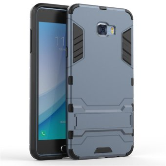 "Luxury Back Armor Style (PC and Soft TPU) Shockproof Comprehensive Protection and Stand phone case for Samsung Galaxy C7 Pro (5.7"") - intl"