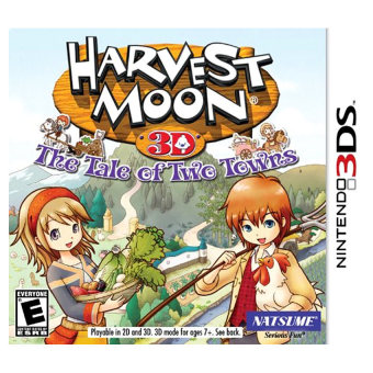 Harga Harvest Moon: Tale of Two Towns - Nintendo 3DS(Export)(Intl)