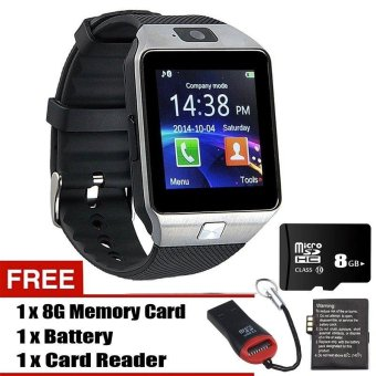 Harga DZ09 Smart Watch Bluetooth TouchScreen for Android and iOS - intl