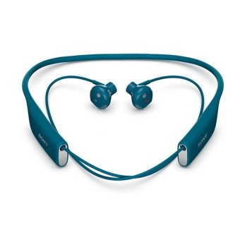 Sony SBH70 Water Resistant Sports Bluetooth Headset with NFC (Blue) - Intl