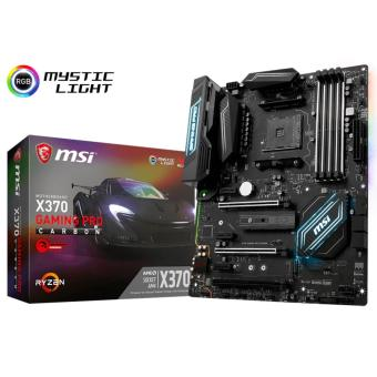 Harga MSI X370 GAMING PRO CARBON AM4 MAINBOARD