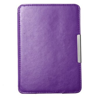 Harga New Leather Ultra Slim Smart Magnetic Case Cover for Amazon Kindle Paperwhite1 2 (Purple) - intl